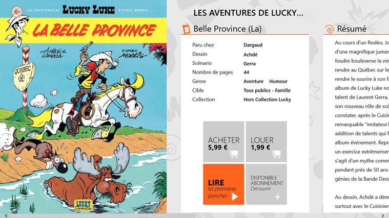 BD comics screen shot 1