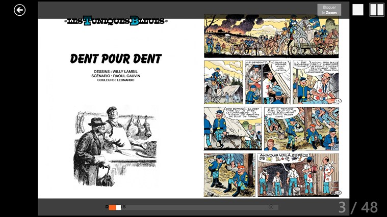 BD comics screen shot 3
