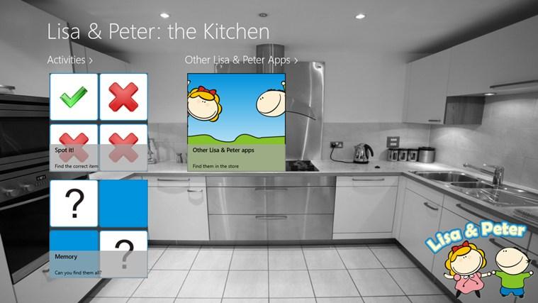Lisa & Peter: de Keuken zrzut ekranu 1