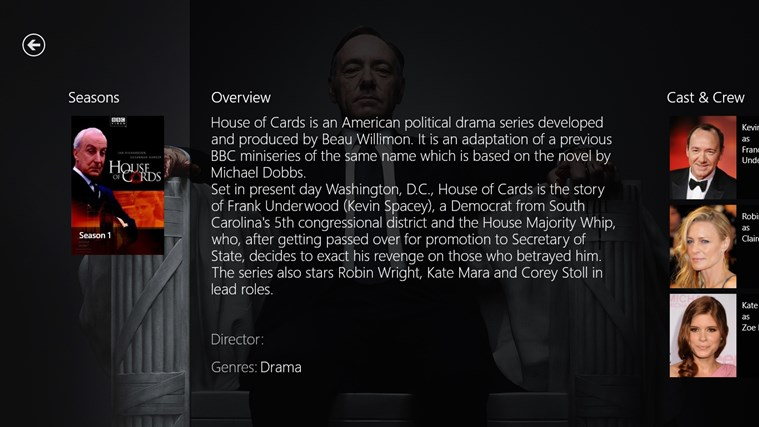 Media Browser screen shot 5