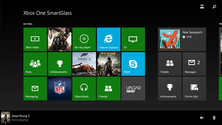 Xbox One SmartGlass screen shot 1