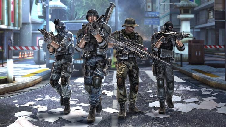 Modern Combat 5: Blackout screen shot 1