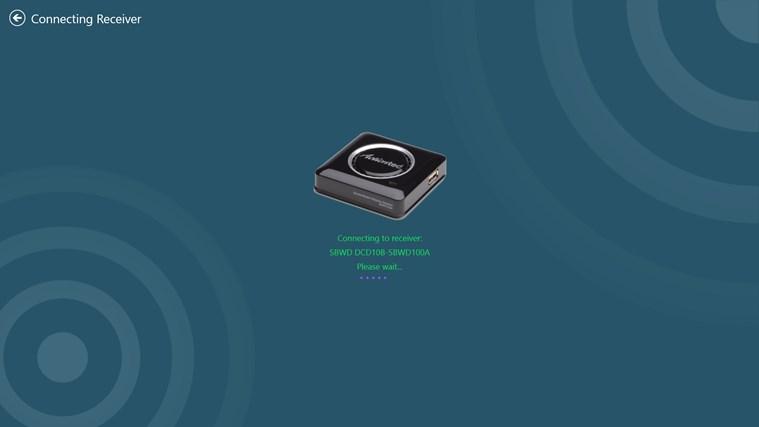 ScreenBeam Configuration Utility (Windows/Intel® WiDi) screen shot 3
