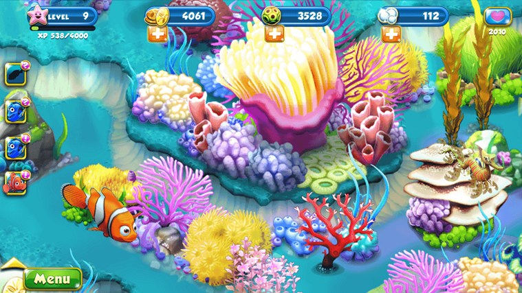 Nemo's Reef screen shot 1