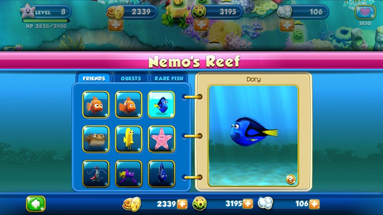 Nemo's Reef screen shot 3