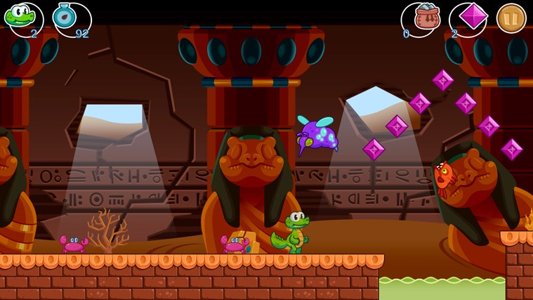 Croc's World screen shot 3