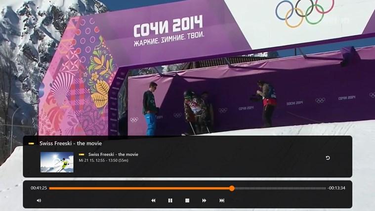 Zattoo Live TV Screenshot 1