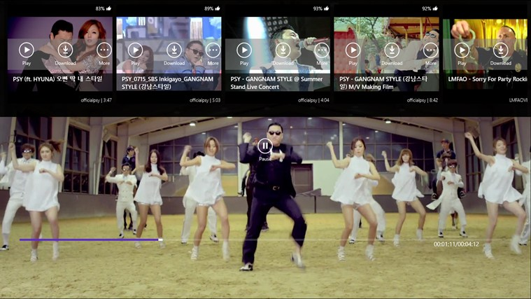 Youtube Music screen shot 5