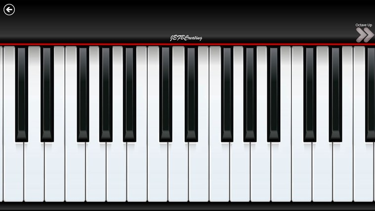 Piano8 screen shot 1