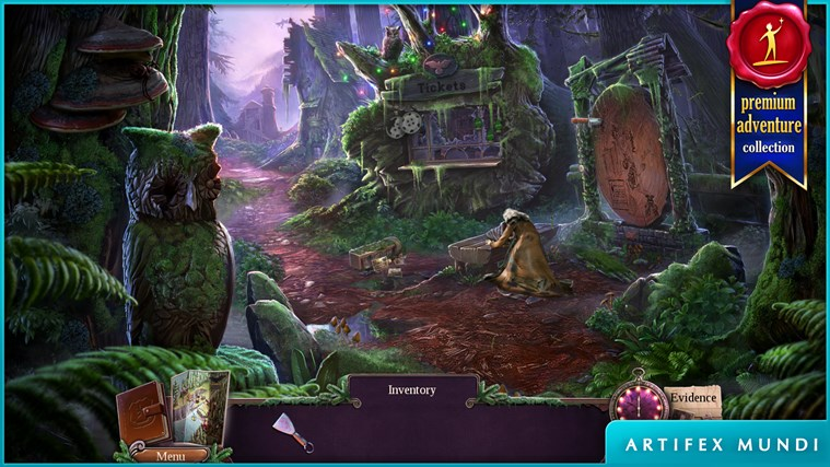 Enigmatis 2: The Mists of Ravenwood screen shot 3