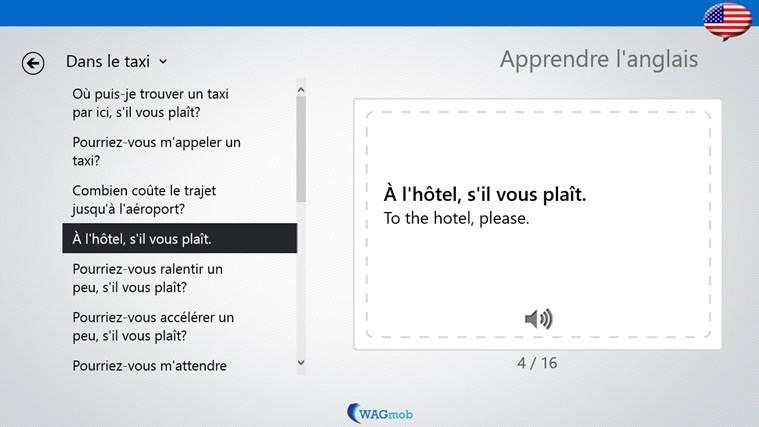 Apprendre l 39 anglais livret de phrases screenshot 3 for Apprendre les livrets