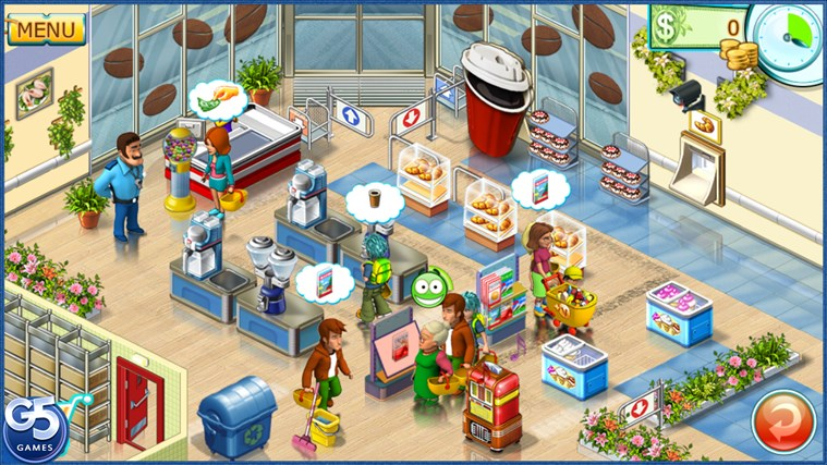 Supermarket Mania® 2 HD screen shot 1