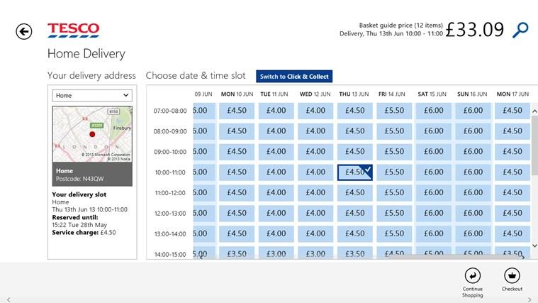 Tesco Groceries screen shot 5