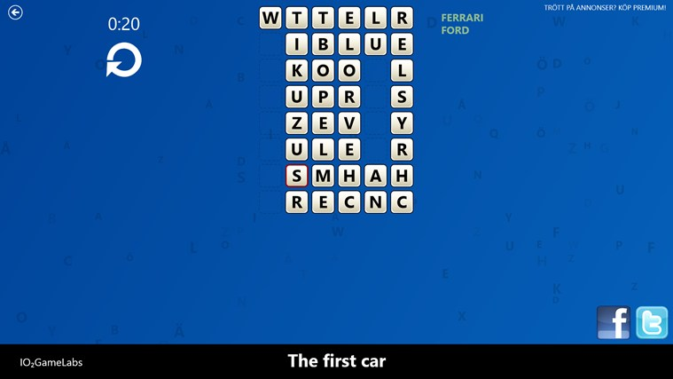 WordRoom screen shot 3