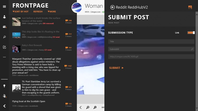 Reddit ReddHubV2 screen shot 7