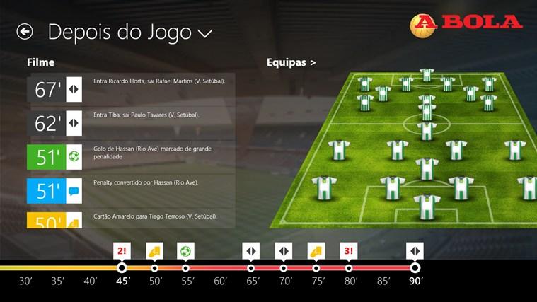A BOLA - Jogos em direto captura de ecrã 3