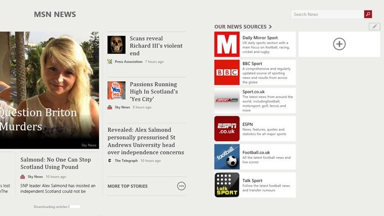 MSN News screen shot 3