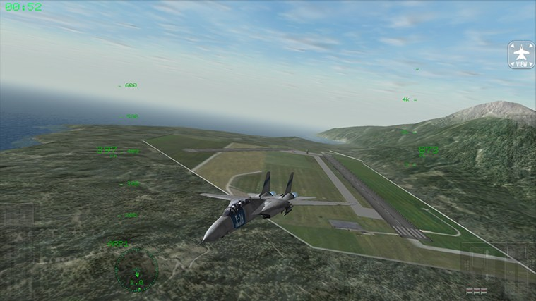 F18 Carrier Landing Lite screen shot 1