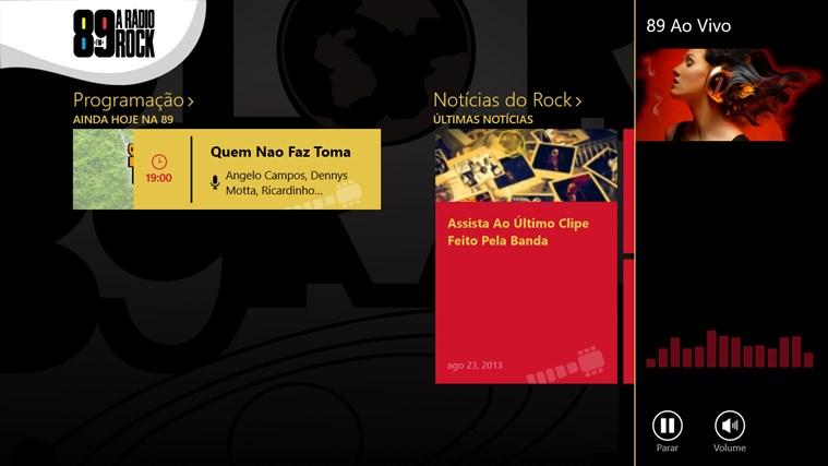 89 FM A Radio Rock captura de tela 1