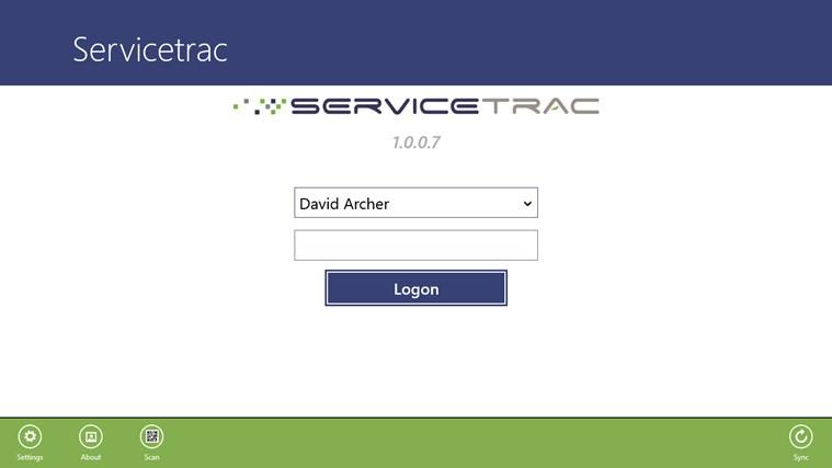Servicetrac 스크린샷 1