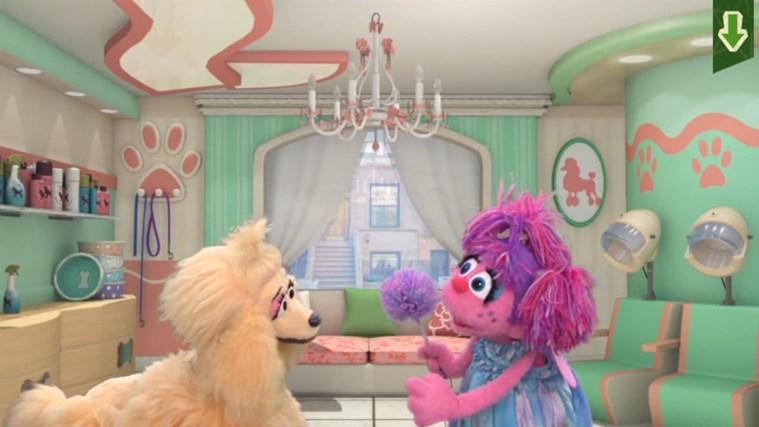 Sesame Street Touch & Learn TV screen shot 1