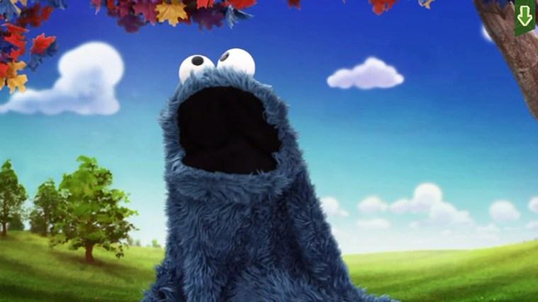 Sesame Street Touch & Learn TV screen shot 3
