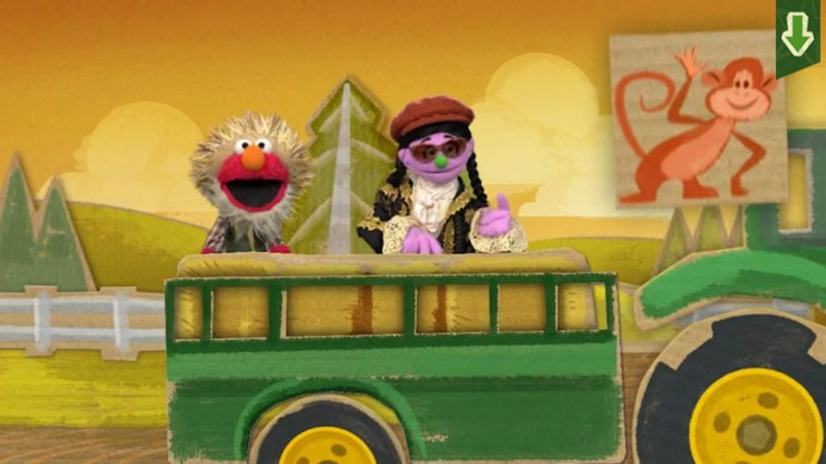 Sesame Street Touch & Learn TV screen shot 5