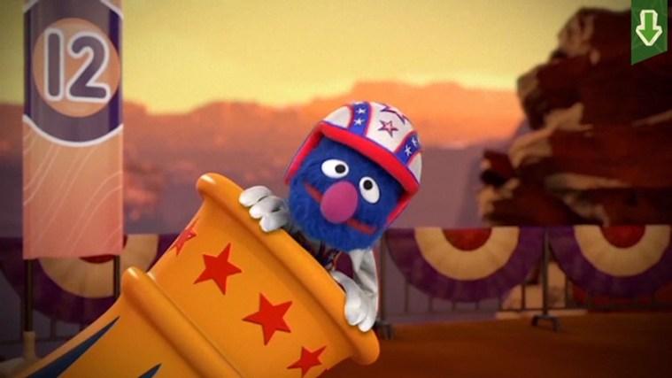 Sesame Street Touch & Learn TV screen shot 7