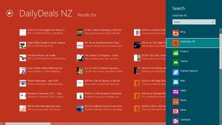 DailyDeals NZ screen shot 3