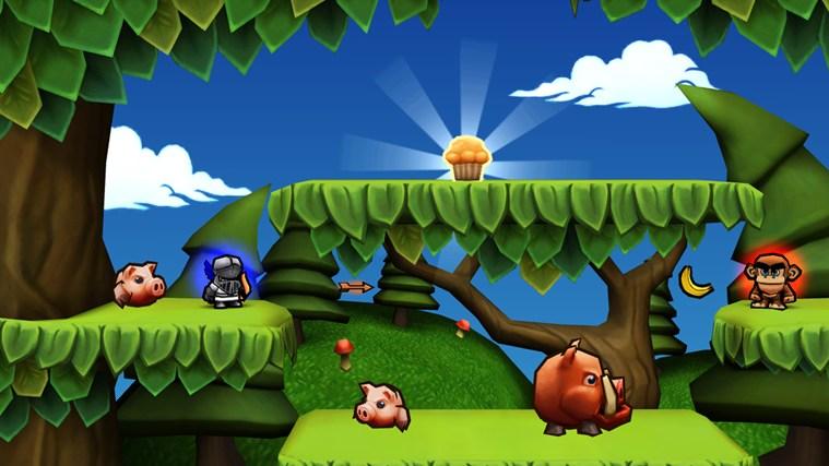 Muffin Knight screen shot 1