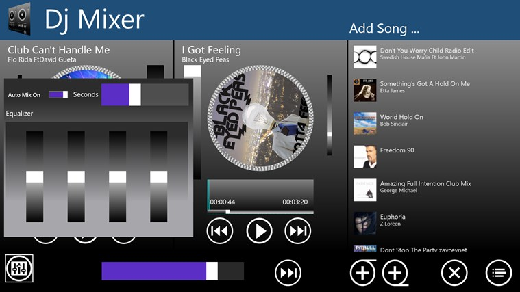 Dj Mixer screen shot 1