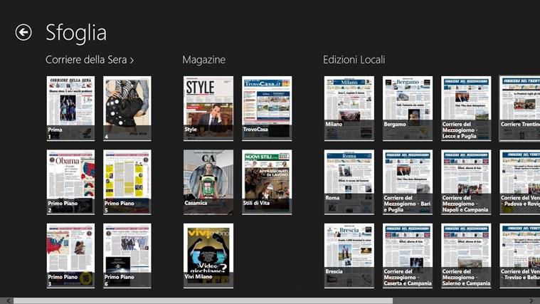 Corriere Della Sera - Digital Edition cattura di schermata 1