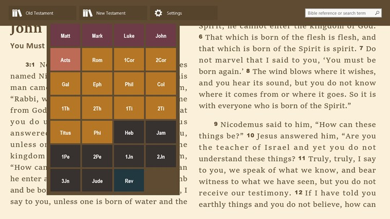 ESV Bible Online screen shot 1