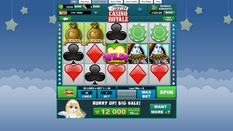 Slots Heaven - FREE SLOT MACHINE GAME screen shot 1