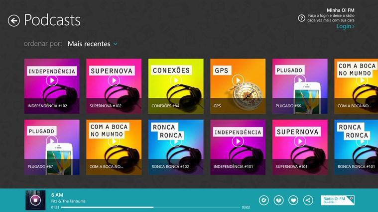Oi FM captura de tela 3