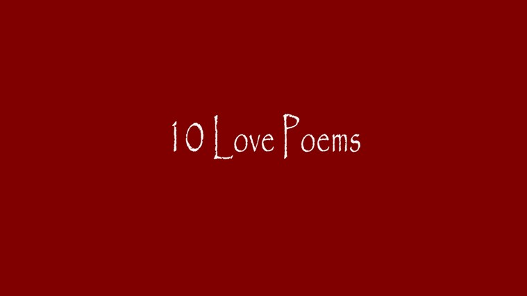10 Love Poems screen shot 5