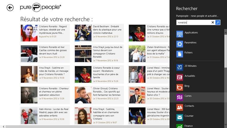 Purepeople - news people et actualités des stars capture d'écran 3