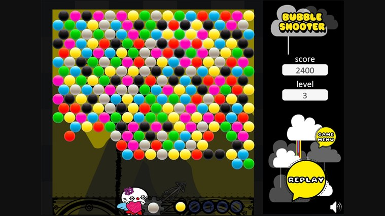 Bubble Shooter screen shot 1