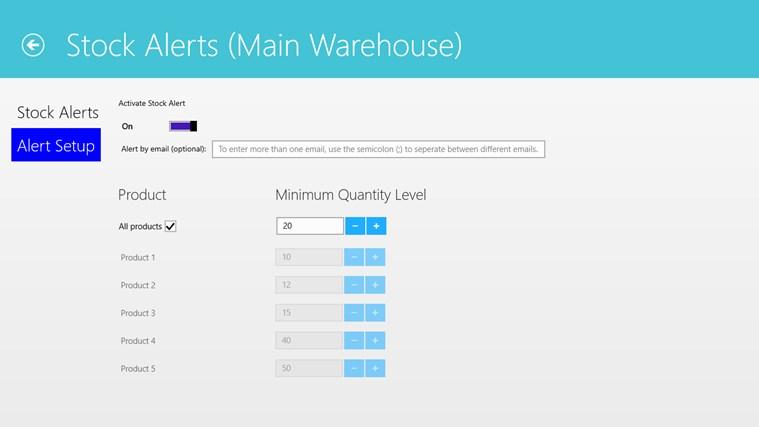 Simple Inventory Control screenshot 7
