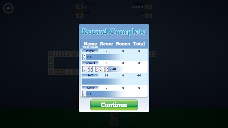 Dominoes screen shot 3