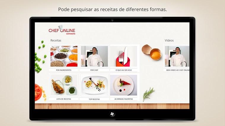Chef Online captura de ecrã 1