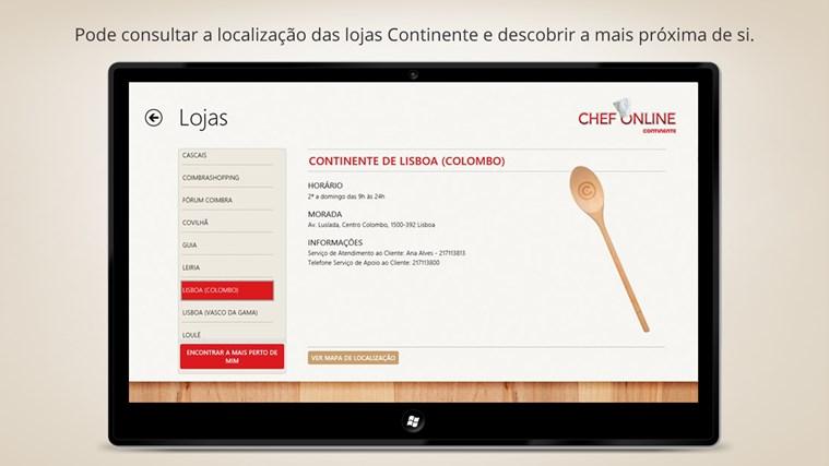 Chef Online captura de ecrã 3