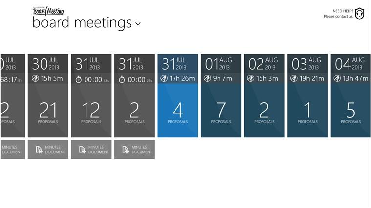 BOARD MEETING screen shot 1