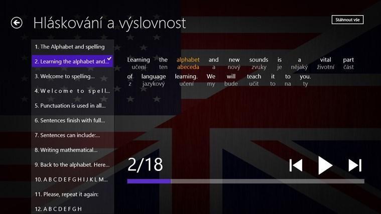 Angličtina Premium snímek obrazovky 1
