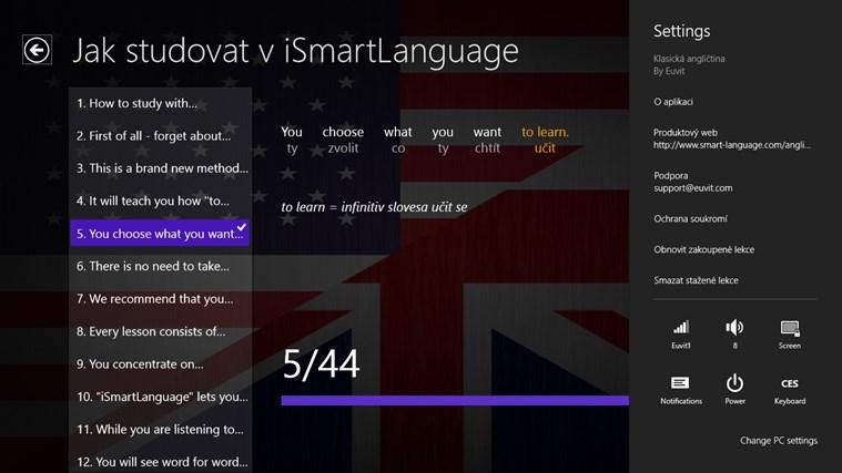 Angličtina Premium snímek obrazovky 7