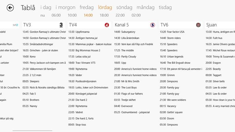 tv.nu-skärmbild 1