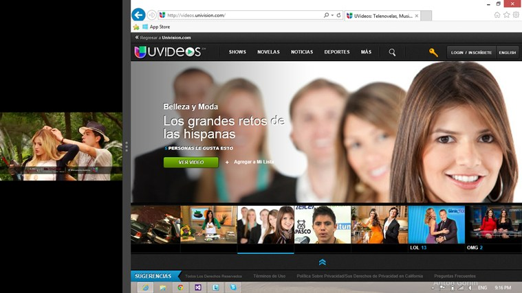 UVideos screen shot 5
