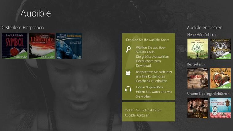 Audible - Audiobooks and more Screenshot 1