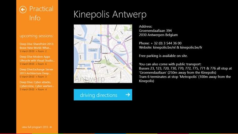 Microsoft TechDays Belux 2013 schermafbeelding 7