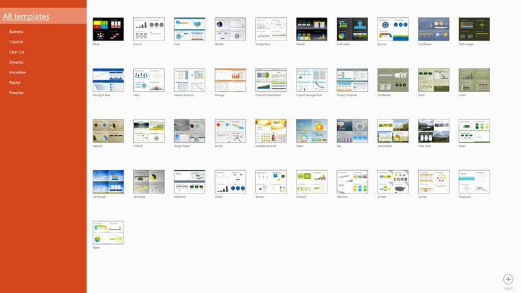 Templates for PowerPoint Pro zrzut ekranu 1
